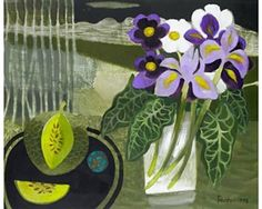 Mauve and White By Mary Fedden ,1995