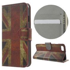 Köp Plånboksfodral Apple iPhone 7 UK-flagga online. http://www.phonelife.se/planboksfodral-apple-iphone-7-uk-flagga