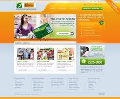 Rediseño web Caja de Crédito Metropolitana
