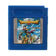 Nintendo GBC Video Game Cartridge Console Card Dragon Warrior III English Language Version