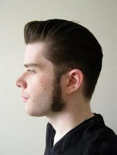 rockabilly hairstyle my brother Ryan could pull this look off totally