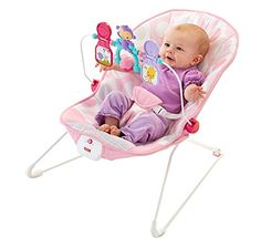 FisherPrice Babys Bouncer  Pink Ellipse *** Continue to the product at the image link.Note:It is affiliate link to Amazon. #instalove