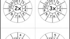 Times Table Worksheets             And