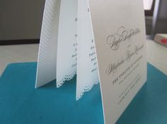 wedding program ideas