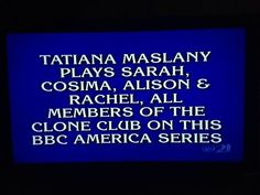 What is Orphan Black?