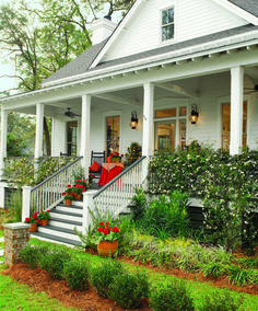 A Southern Living porch...love this house