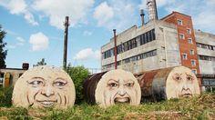 """""""The faces"""", Russia, Perm, 2011 (photo cortesy Nikita Nomerz)"""