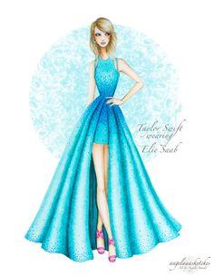 Taylor Swift 57th Grammy Awards- Updated by angelaaasketches on DeviantArt