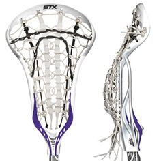 STX Crux 10 Complete Lacrosse Stick with Lever 10 Handle.  One of the hottest sticks on the market right now.