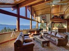 LHM Lake Tahoe - Panoramic lake view home  located in one of the most  prestigious neighborhoods  around the lake. The extralarge  0.81 acre lot and  bordering USFS land ensures  a one-of-a-kind setting for this  impeccable one-of-a-kind home.