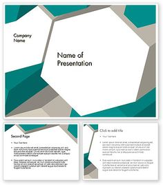 Abstract Geometric PowerPoint Template