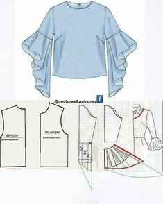 How to sew an umbrella dress Easy How to sew a reg . How to sew an umbrella dress Easy How to sew an umbrella dress Easy Sewing Dress, Sewing Sleeves, Dress Sewing Patterns, Clothing Patterns, Blouse Patterns, Diy Clothes, Clothes For Women, Sewing Blouses, Sleeves Designs For Dresses