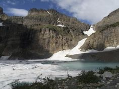 Grinnell Glacier Hike - 7.8 miles, 1840' gain  Awesome hike. Can I go back right now please?