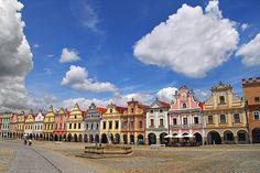 テルチ歴史地区(Historic Centre of Telc)
