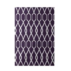 Found it at Wayfair - Charleston Geometric Print Grape Indoor/Outdoor Area Rug