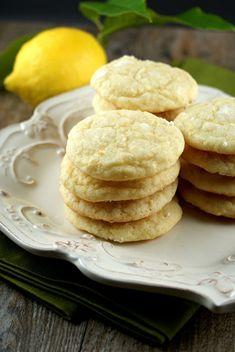 Authentic Suburban Gourmet: Lemon Crinkle Cookies