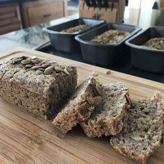 Buckwheat Bread (gluten-free, dairy-free, egg-free) - The Betty Rocker Buckwheat Bread, Buckwheat Recipes, Vegan Bread, Quinoa Bread, Dairy Free Eggs, Dairy Free Recipes, Raw Food Recipes, Egg Free, Freezer Recipes