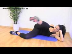 Rutina de ejercicios para la cadera . ADIOS A LAS CARTUCHERAS !