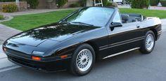 I had a 1991 Mazda Rx-7 convertible just like this one. - 1988 Mazda RX-7 Convertible.