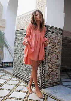 Ideas for moda boho chic sincerely jules Boho Chic Outfits Summer, Fall Fashion Outfits, Boho Outfits, Look Fashion, Trendy Outfits, Autumn Fashion, Womens Fashion, Coral Outfits, Coral Fashion
