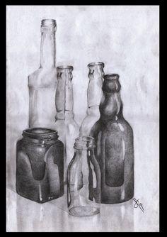 still_life_bottles_by_jinglesart-d3fwhax.jpg (750×1064)