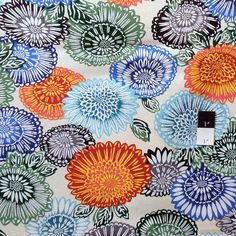 Philip Jacobs JP46 Lacy Natural Cotton Fabric By The Yard