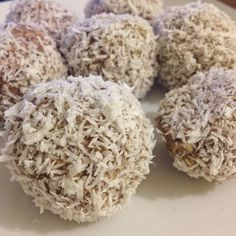 My fitness no bake balls...so yummy for breakfast and not only...