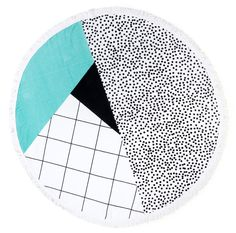 Sandy Nomad's new round beach towels! (+20% off for readers) - The Interiors Addict