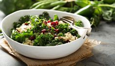 Sofranızı şenlendirecek salata tarifleri | Yaşam Kale Salad, Quinoa Salad, Oil Free Salad Dressing, Diabetes, Broccoli Nutrition, Salad Recipes, Healthy Recipes, Breakfast Wraps, Eat To Live