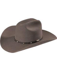 015486ff354 Stetson Mens Angus 6X Fur Felt Western Hat Grey 7 14     For more