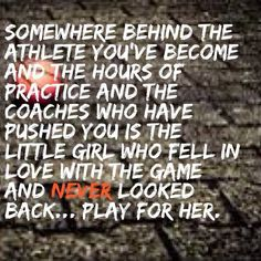 When I forget why I do this --- Basketball quote