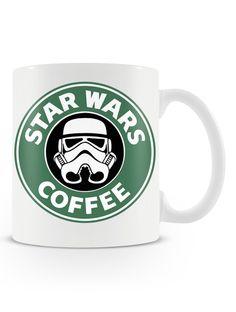 Caneca Star Wars Coffee | Uma loja de caneca  #starwars #coffee #cafe #mugs #canecas