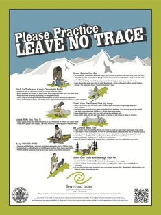 Practice Leave No Trace