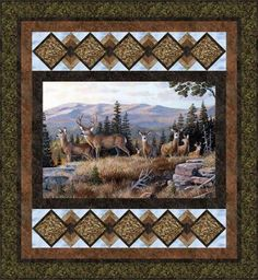 Unique Wildlife Quilt Fabric Panels Inspiration Inspirations Wildlife Quilt Fabric Panels Inspiration - This Unique Wildlife Quilt Fabric Panels Inspiration Inspirations design was upload on December, 21 2019 by. Horse Quilt, Cat Quilt, Quilt Art, Fabric Panel Quilts, Fabric Panels, Quilting Projects, Quilting Designs, Quilting Ideas, Quilt Boarders