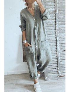 Tienda Fashion, Boho Fashion, Fashion Outfits, Mode Kimono, Capri Outfits, Relaxed Outfit, Moda Boho, Jumpsuit Pattern, Plus Size Maxi Dresses