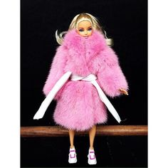 I'm Made Of Plastic It's Fantastic #barbie #girl #barbieworld #barbiedoll #barbiefashion #pinkmink #mink #fur #furfashion