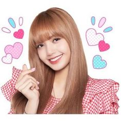 BLACKPINK is back with a second sticker set, full of cuteness and love for BLINKs everywhere! Blackpink Lisa, Blackpink Jennie, South Korean Girls, Korean Girl Groups, Rapper, Lisa Blackpink Wallpaper, Blackpink Memes, K Pop Star, Blackpink Fashion