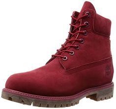 Timberland , Herren Stiefel Rot Rojo - rojo - http://on-line-kaufen.de/timberland/6-reino-unido-timberland-6-inch-premium-ftb-10001