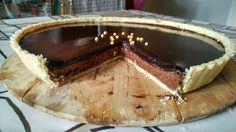[OC] Chocolate tart : food