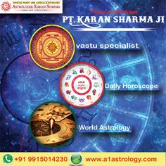 Vastu Specialist Pt. Karan Sharma. Please visit us- www.a1astrology.com