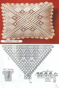Almohadon crochet patron