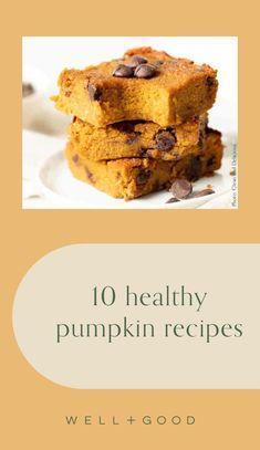 pumpkin recipes Gluten Free Pumpkin, Vegan Pumpkin, Healthy Pumpkin, Pumpkin Recipes, Fall Recipes, Pumpkin Pie Bars, Pumpkin Waffles, Pumpkin Spice Syrup, Roast Pumpkin Salad