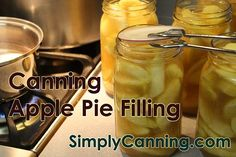 Canning Apple Pie Filling, Tips and tricks for and easy make ahead dessert.