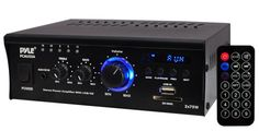 Pyle Home PCAU35A 2 x 75 Watts Mini Power Amplifier with LED Display >>> For more information, visit image link. (Note:Amazon affiliate link)