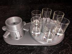 B52Maker Basic Set silber/rot – B52Maker Box, Napkin Rings, Decor, Silver, Snare Drum, Decoration, Boxes, Dekoration, Inredning
