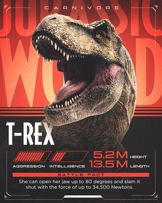 T-Rexy Jurassic World Fallen Kingdom Jurassic Park Raptor, Jurassic Park Trilogy, Jurassic World 3, Jurassic World Dinosaurs, Jurassic World Fallen Kingdom, Lego Jurassic, Jurassic World Wallpaper, Big Cats Art, Dinosaur Art