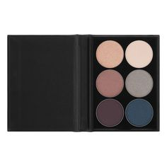 """The perfect sized palette for smokey eyes! Try NYX Cosmetics Beauty School Dropout 101 in """"Smokey,"""" to achieve that perfect smoked out eye. This palette includes six rich shades that has both matte and pearl finishes."""