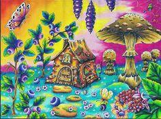 www.klara-markova.cz ⭐️Magical delights⭐️ Čarovné lahodnosti  coloring book⭐️