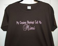 I want this!!! MY GREATEST BLESSINGS CALL ME MiMi T-Shirt