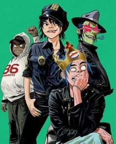 Gorillaz interview: Damon Albarn and Jamie Hewlett on Brexit, the royal wedding and their fun new album, The Now Now Gorillaz Noodle, Gorillaz Fan Art, Gorillaz Wiki, Murdoc Gorillaz, Damon Albarn, Jamie Hewlett Art, Character Art, Character Design, Simple Character
